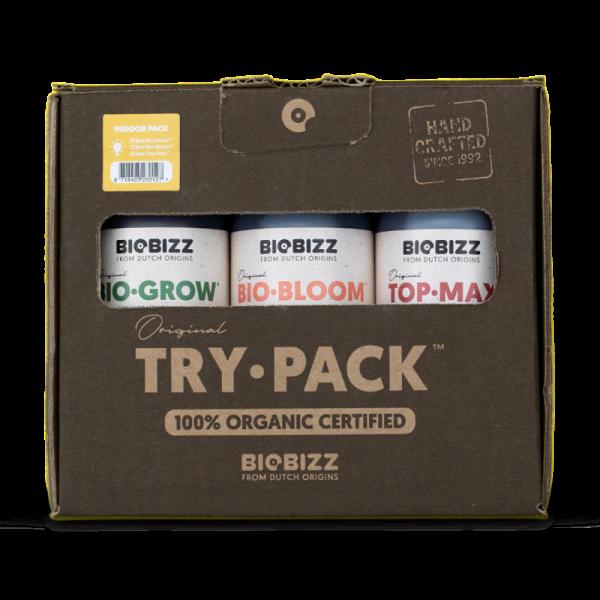Комплект удобрений BioBizz Try pack Indoor