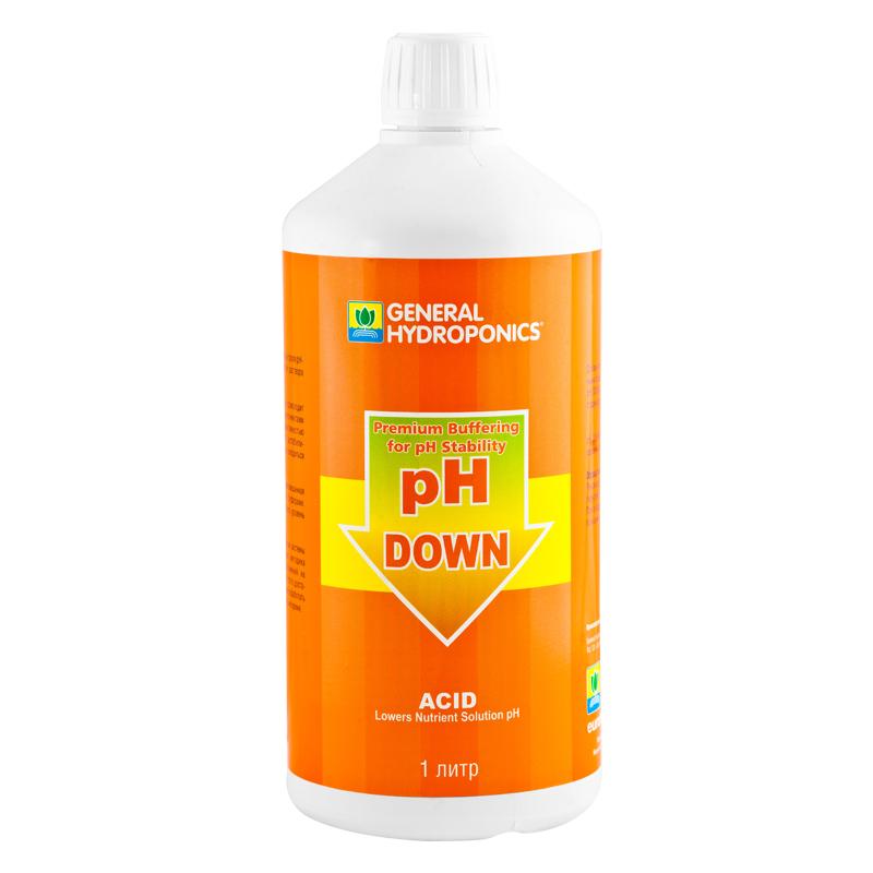 pH Down GHE 1 л