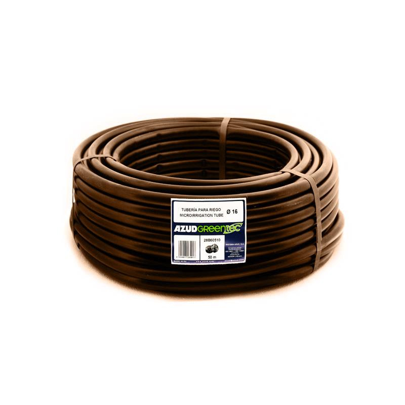 Труба коричневая 16 мм,1м
