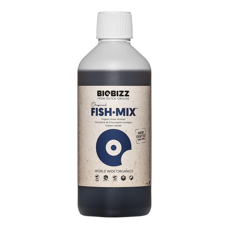 Стимулятор бактериальной флоры Fish-Mix BioBizz 0.5 л