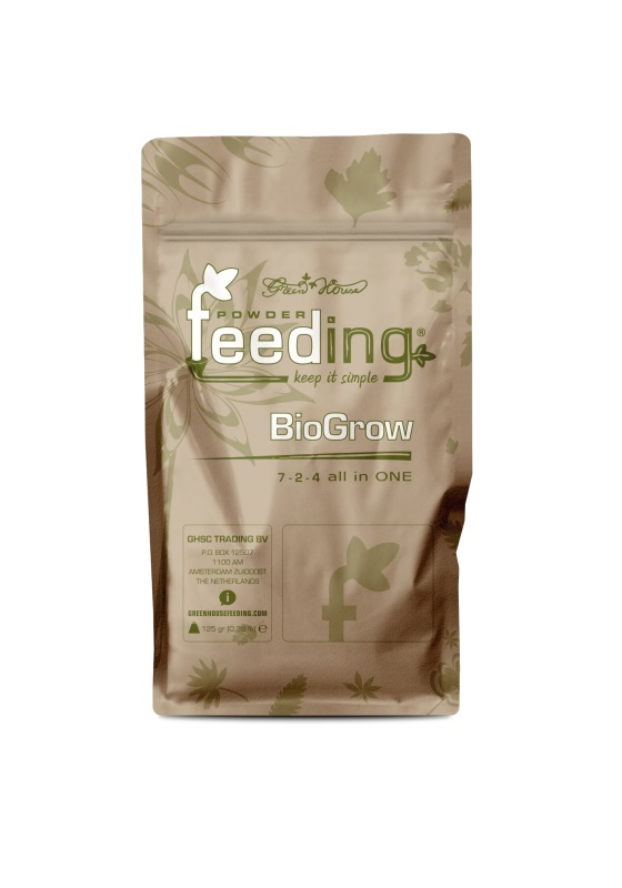 Удобрение Powder Feeding BIO Grow 125 гр