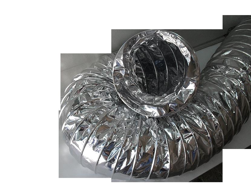 Воздуховод гофрированный D=100 мм (10 м)