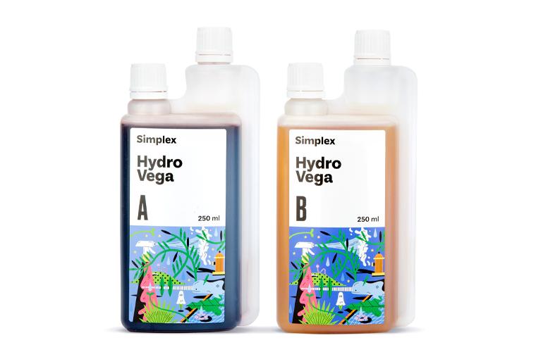 Удобрение Simplex Hydro Vega A+B 0,25 л