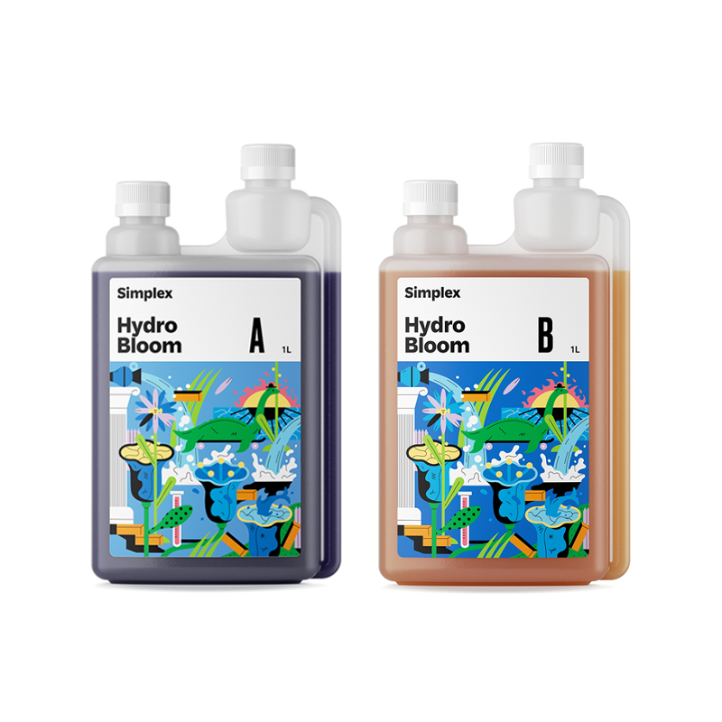 Удобрение Simplex Hydro Bloom A + B 0,5 л