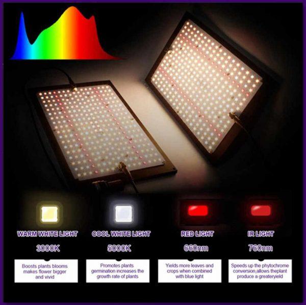 Фитосветильник полного спектра Quantum Board 240 Вт Samsung lm301B