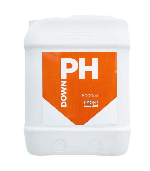Препарат для понижения уровня рН раствора pH Down E-MODE 5 л
