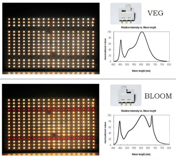 Светильник Quantum Board 240 Вт Samsung lm301B+UV IR