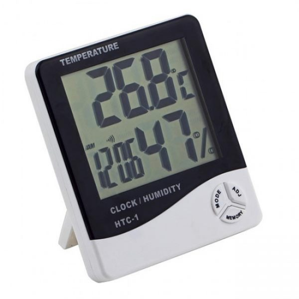 Метеостанция (температура, влажность, часы)