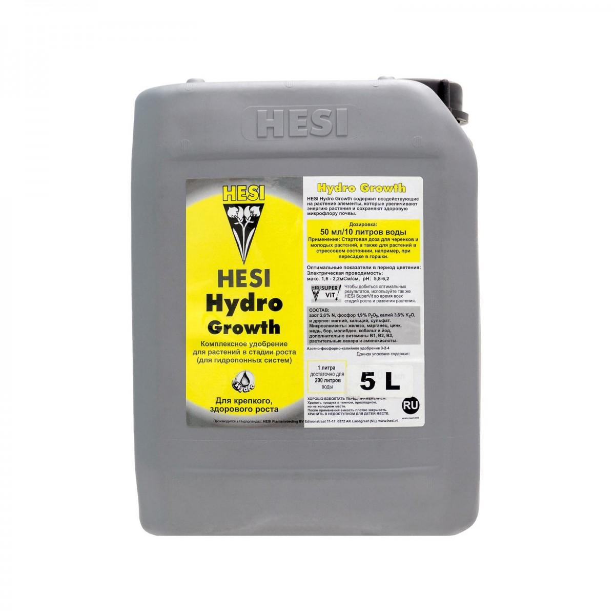Удобрение Hydro Growth Hesi 5л